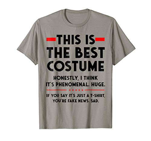 Donald Trump Halloween Costume T Shirt Funny Political Tee